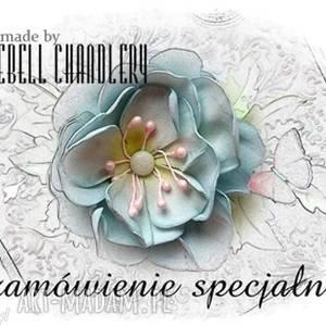 zamówienie dla pana tomasza bluebell chandlery - zaproszenia, winietki