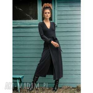 Mila black night - elegancka sukienka sukienki milita nikonorov