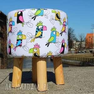 hand-made pufa papuga - 36