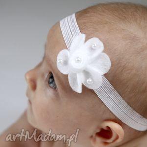 ręcznie zrobione dla dziecka opaska niemowlęca