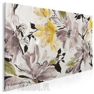 obraz na płótnie - kwiaty wiśnia 120x80 cm 15401, kwiaty, wiśnia, drzewo