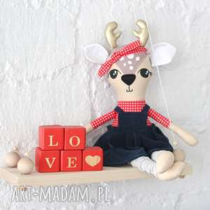 oryginalny prezent, lalki lalka jelonek, pin-up, jeleń, sarenka dla dziecka