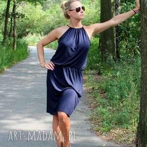 letnia sukienka z wiskozy, sukienka, zwiewna, lejąca, letnia, elegancka, sexy