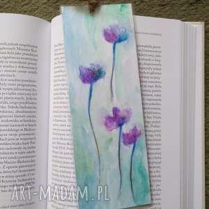 Zakładka do książki-kwiaty zakładki paulina lebida zakładka