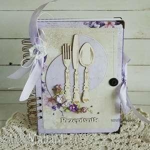 Przepiśnik fioletowy, 232 - ,przepisy,przepiśnik,notes,kuchenny,kulinarny,