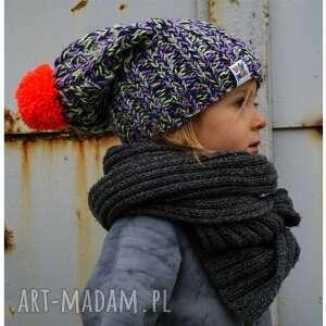 dla dziecka czapunia ammm mode 3, braininside, zima, czapka, dziecko, dla-dziecka