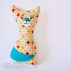 Kotek Mruczek Hania 18 cm, kotek, maskotka, zabawka, kolorowa, bezpieczna, dziecko