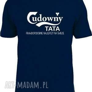 Prezent Koszulka z nadrukiem dla taty, prezent dzień ojca, od dzieci, syna, córki