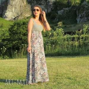 41-długa zwiewna sukienka, lalu, długa, letnia, zwiewna
