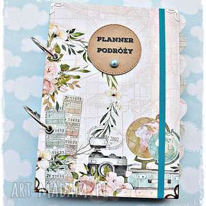 Prezent Planer Podróży - prezent dla Podróżniczki, personalizacja, planer-podróży