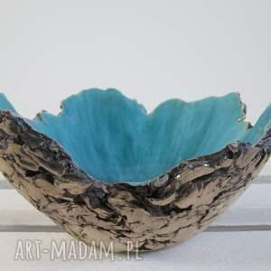 sardynia artystyczna miska rozmiar m - miseczka, dekoracyjna, jak-skała, ceramika