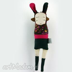 maskotki siostra szi malinowa - lalka / zabawka hand made, przytulanka, zwierzątko