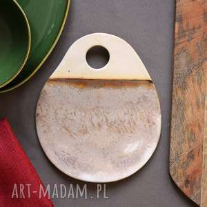 Podstawka ceramiczna ceramika wooden love podstawka, talerz