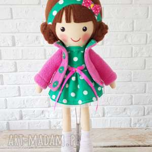 Malowana lala klara lalki dollsgallery lalak, przytulanka