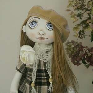 lalka kolekcjonerska ręcznie szyta, handmade