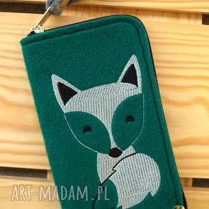 etui filcowe na telefon - lisek, smartfon, pokrowiec, futerał, etui, fox