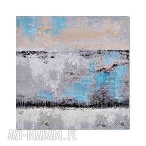 Tierra del Glacies, abstrakcja, nowoczesny obraz ręcznie malowany, obraz,