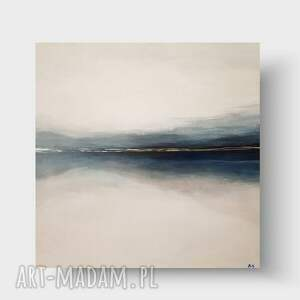 morze-obraz akrylowy formatu 50/50 cm, pejzaż, akryl, morze, obraz, nowoczesny