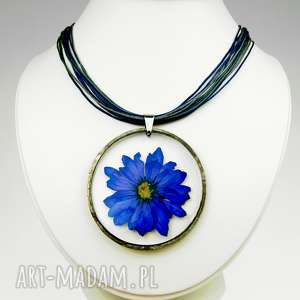 Naszyjnik z prawdziwym kwiatem WZÓR, naszyjnik, zprawdziwymikwiatami, herbarium