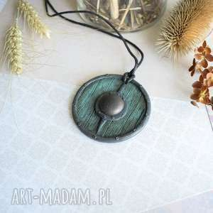 oryginalny prezent, sirius92 wisior tarcza wikinga viii, wisior