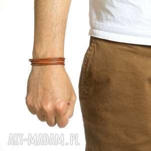 męska modna bransoleta skórzana rzemień, bransolety, bransoletki