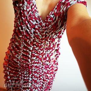 Szydełkowa tunika, ażurowa, bawełniana, sukienka, letnia, odważna
