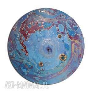 krajobraz księżycowy 43, abstrakcja, planeta, księżyc, ziemia
