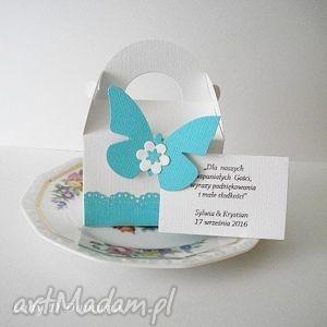 zaproszenia komplet pudełeczek dla gości /na upominki słodkości