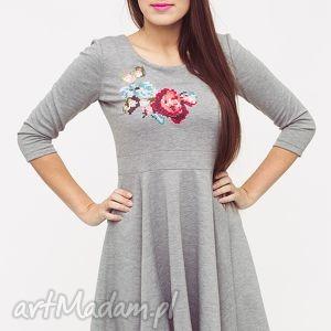 sukienki sukienka love dress floral 09 r s - modna