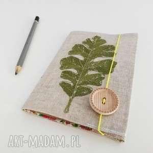 handmade notesy notes liść