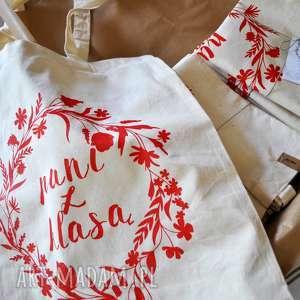 ręcznie zrobione torba pani z klasą dla nauczycielki