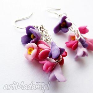 handmade kolczyki kwiatuszki kolczyki