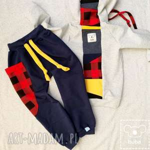 ręcznie zrobione spodnie z kieszenią