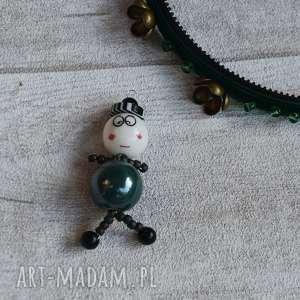 naszyjniki zakręcony piotruś, biżuteria, naszyjnik, pamperek, zielony