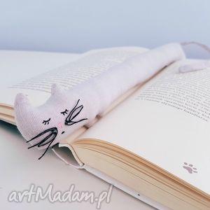 kocia zakładka szara - ,kot,kotek,meow,kocia,zakładka,książka,