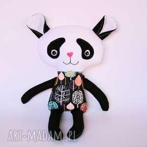 ręcznie robione maskotki misiu panda zuza 44 cm