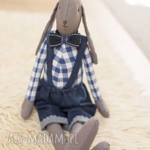 ręcznie robione maskotki królik tilda bruno