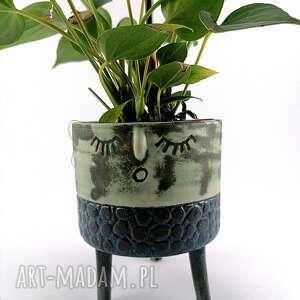 ceramika osłonka ceramiczna z serii rodzina - helenka, doniczka