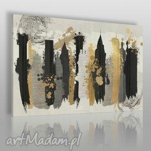 obraz na płótnie - miasto artystyczny 120x80 cm 50201, miasto
