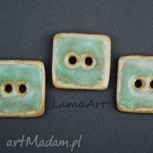ceramiczne guziki - święta, prezent, upominek, imieniny, ceramiczne