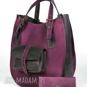 torba torebka ręcznie wykonana, kolorowa, portfel, do pracy