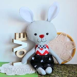 ręcznie wykonane zabawki królik tuptuś - emil 45