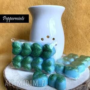 dom cukierki miętówki - wosk sojowy zapachowy peppermints