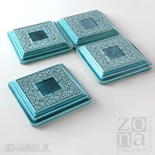 hand-made ceramika kafle dekory orientalne