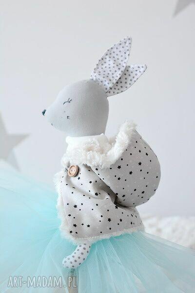 sarenka zabawki białe baletnica zimowa