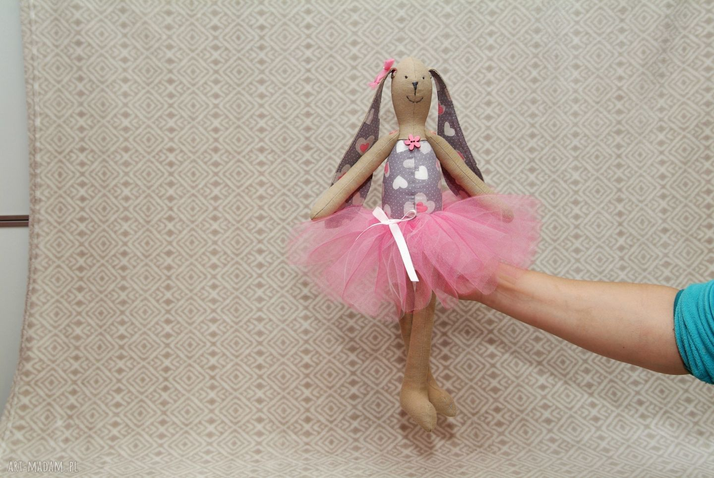 maskotki baletnica serduszko