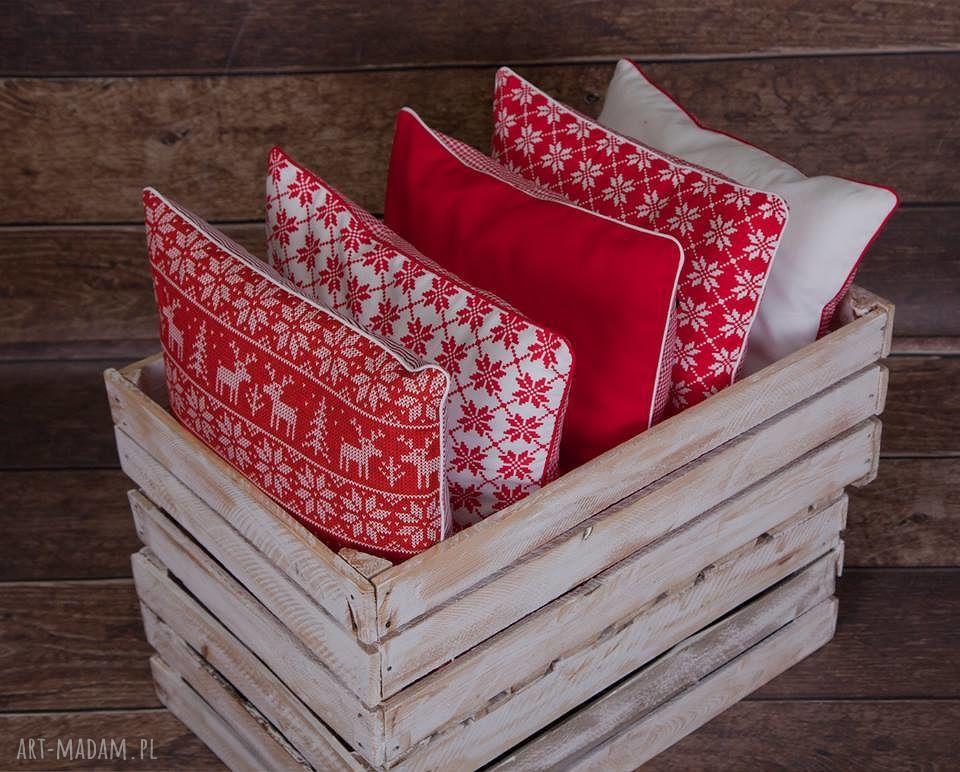 hand-made pomysł na prezent pod choinkę idą święta!!! świąteczne poszewki na poduszki - 5 wzorów