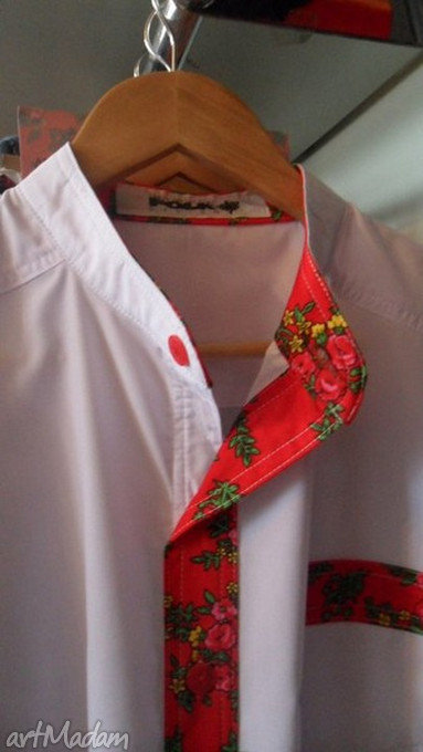 koszulki męska koszula folk design sygnowana