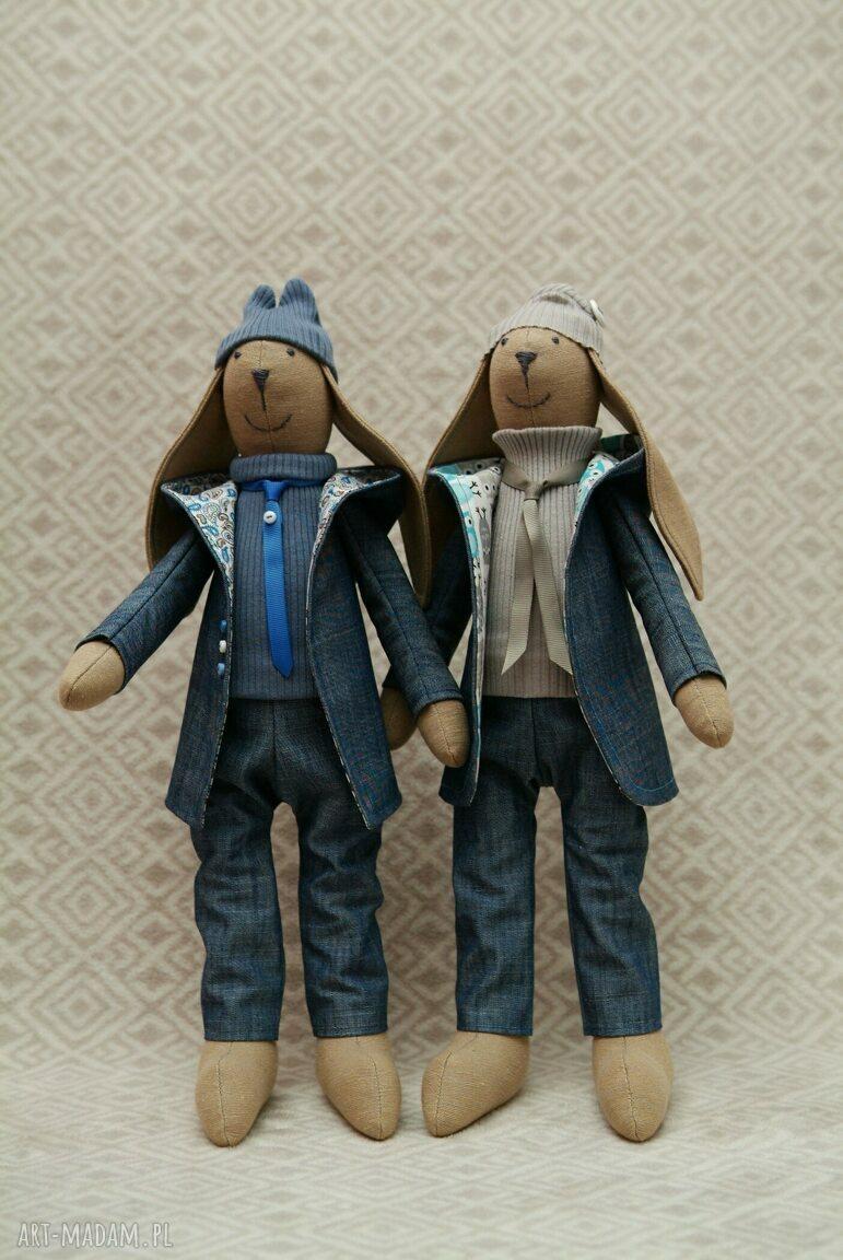 paisley maskotki niebieskie młodszy bliźniak krawaciarz