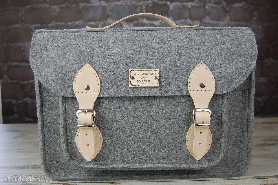 niebanalne na laptopa torba filcowa - personalizowana